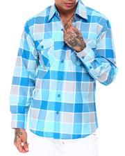 Button-downs - Yarn Dyed Box Plaid Ls Shirt-2685271