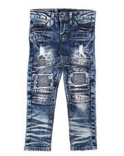 Bottoms - Rip & Repair Moto Jeans (4-7)-2685291