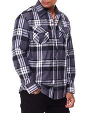 Button-downs - Brit Plaid Buttondown Shirt-2685450