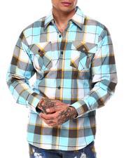 Button-downs - Tri Color Box Plaid Shirt-2685508