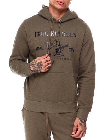 True Religion - METALLIC BUDDHA HOODIE