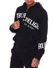 True Religion - ZIP UP HOODIE TOSS LOGO-2684494