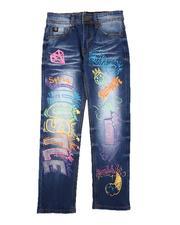 SWITCH - Graffiti & Rhinestone Jeans (8-18)-2686377