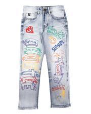 SWITCH - Graffiti & Rhinestone Jeans (8-18)-2686436