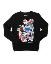 Arcade Styles - The Good Life Bear Crew Neck Sweatshirt (8-20)-2685412