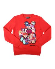 Arcade Styles - The Good Life Bear Crew Neck Sweatshirt (8-20)-2685427