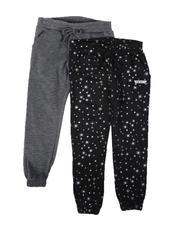 HIND - 2 Pack Spun Poly Fleece Jogger Pants (7-16)-2686522
