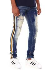 Jeans & Pants - Side Strip Paint Splatter Jean-2686939
