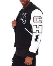 NBA, MLB, NFL Gear - Chicago White Sox Logo Varsity Jacket-2686998