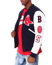 NBA, MLB, NFL Gear - Boston Red Sox Logo Varsity Jacket-2687086