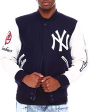 NBA, MLB, NFL Gear - New York Yankees Logo Varsity Jacket-2687114