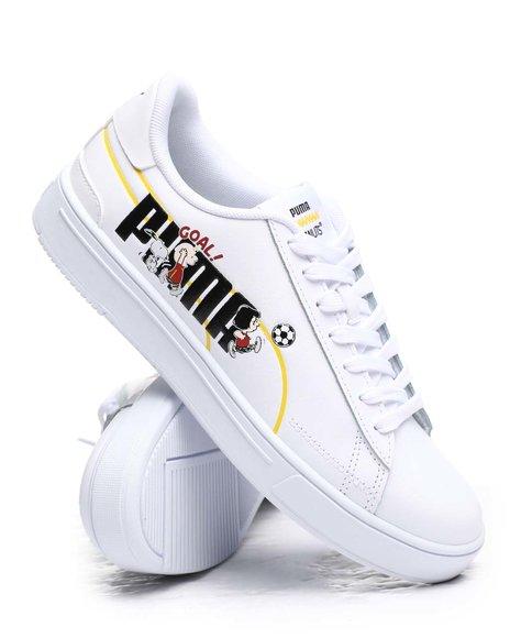 Puma - Puma x Peanuts Serve Pro Jr. Sneakers (4-7)