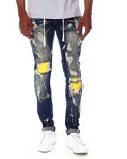 Buyers Picks - Distressed Jean w Color Patch Repair-2687974