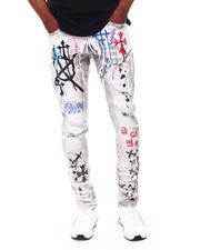 Jeans & Pants - Chrome Cross and Graffiti Jean-2687763