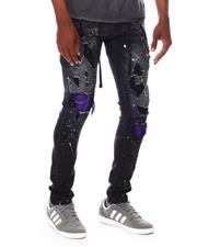 Jeans & Pants - Distressed Jean w Color Patch Repair-2688025