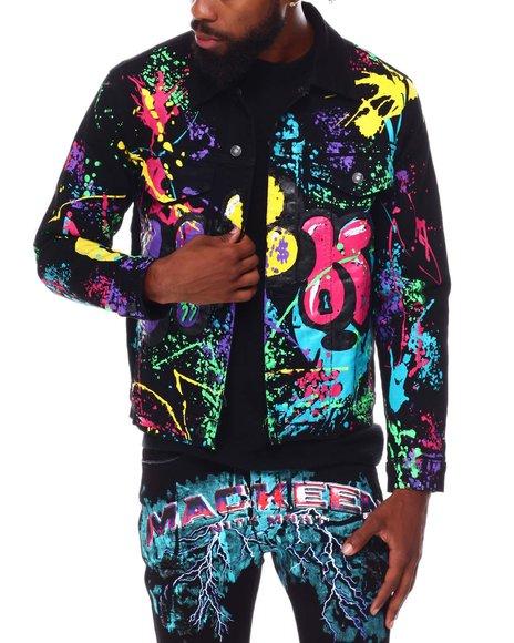 Mackeen - Krewl Graffiti Denim Jacket