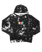 Brooklyn Cloth - Drip Splatter Pullover Hoodie (8-18)-2687549