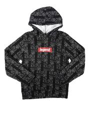 Brooklyn Cloth - Legend All Over Print Pullover Hoodie (8-18)-2687587