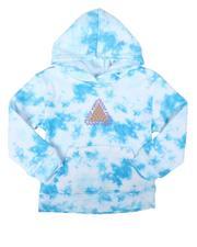 Brooklyn Cloth - Good Vibes Tie Dye Pullover Hoodie (8-18)-2687564