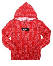 Brooklyn Cloth - Legend All Over Print Pullover Hoodie (4-7)-2687577