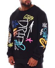 Pullover Sweatshirts - Drip Graffiti Crewneck (B&T)-2688397