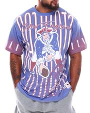 NBA, MLB, NFL Gear - New England Patriots Sublimated T-Shirt (B&T)-2689058