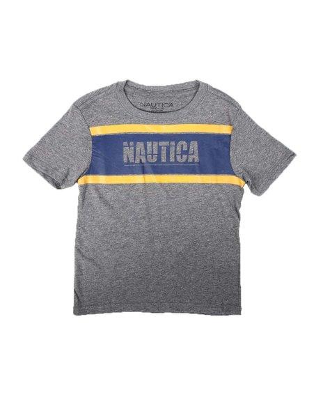 Nautica - Retro Chest Bar Graphic T-Shirt (2T-4T)