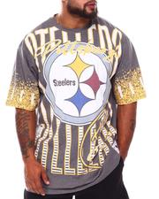 NBA, MLB, NFL Gear - Pittsburgh Steelers Sublimated T-Shirt (B&T)-2689063