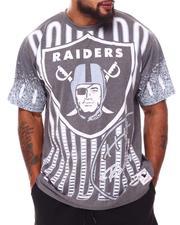 NBA, MLB, NFL Gear - Las Vegas Raiders Sublimated T-Shirt (B&T)-2689022