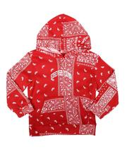 Brooklyn Cloth - Forever Young Bandana Print Pullover Hoodie (4-7)-2688772