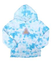 Brooklyn Cloth - Good Vibes Only Tie Dye Pullover Hoodie (4-7)-2688777