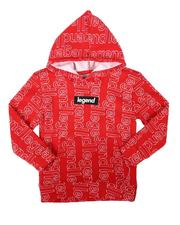Hoodies - Legend All Over Print Pullover Hoodie (2T-4T)-2688811