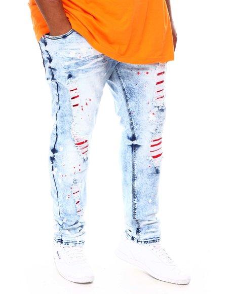 Makobi - Shredded Denim Jean (B&T)