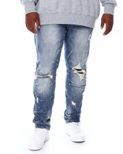 Jeans & Pants - Distressed Slim Fit Denim Jeans (B&T)-2688899