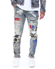 Jeans & Pants - Slim Tapered Old English Jean-2687747
