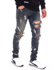 KDNK - Bleached Ankle Zip Jean-2688166