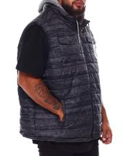 Outerwear - Flyknit Quilted Hooded Vest (B&T)-2688620
