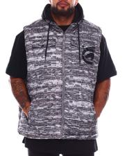 Outerwear - Flyknit Quilted Hooded Vest (B&T)-2688625