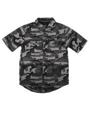 Buffalo - Camo Printed Shirt (8-20)-2689383