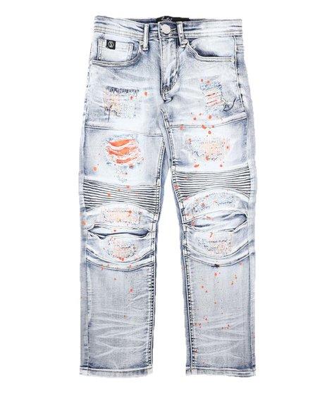 SWITCH - Moto & Stitch Detail Jeans (8-18)