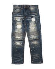 SWITCH - Moto & Stitch Detail Jeans (8-18)-2690178