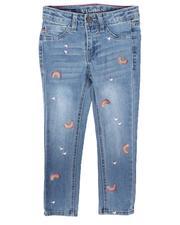Bottoms - Rainbow Skinny Jeans (4-6X)-2689393
