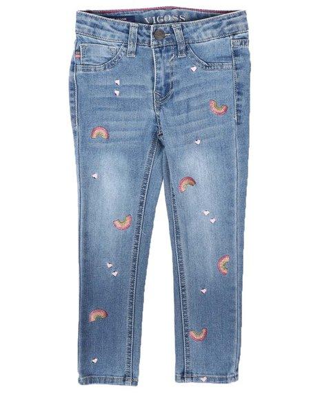 Vigoss Jeans - Rainbow Skinny Jeans (4-6X)