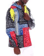 Light Jackets - Bandana Print windbreaker jacket-2689445