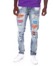 Jeans & Pants - Spray Paint Ripped Slinny Jean-2689903