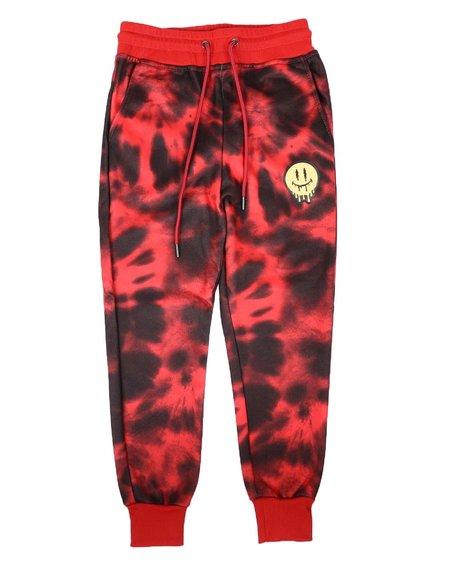 Arcade Styles - Tie Dye Fleece Jogger Pants (8-18)