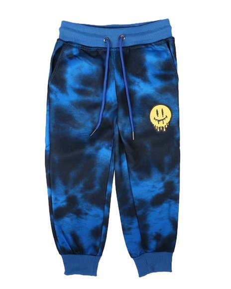 Arcade Styles - Tie Dye Fleece Jogger Pants (4-7)