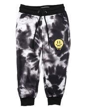 Activewear - Tie Dye Fleece Jogger Pants (4-7)-2689797
