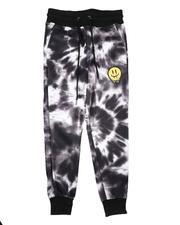 Arcade Styles - Tie Dye Fleece Jogger Pants (8-18)-2689802