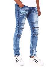 Buyers Picks - Distressed Jean w Zipper Knee Detail-2689937